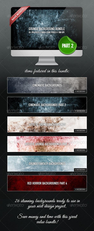 GraphicRiver Grunge Background Bundle Part 2 4711124