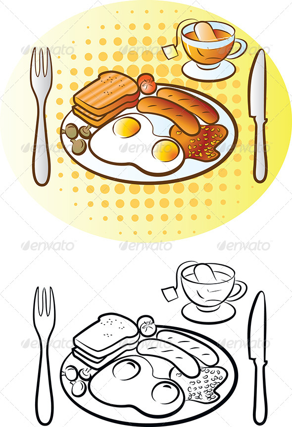 GraphicRiver English Breakfast 4711187