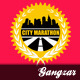City Marathon T-Shirt Design - GraphicRiver Item for Sale