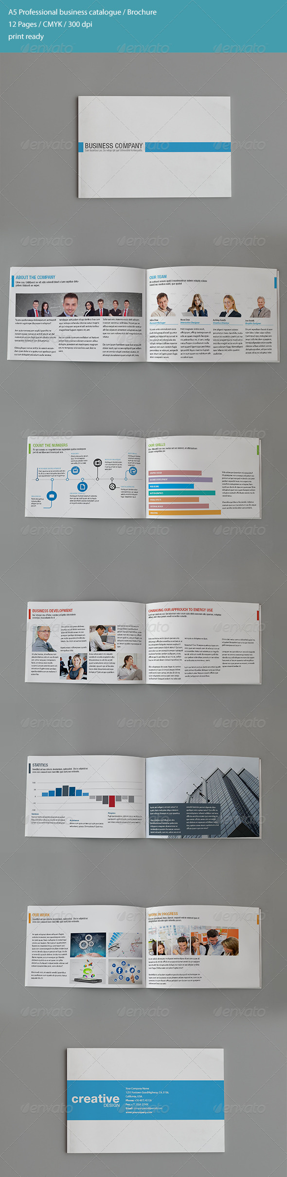 GraphicRiver A5 Business Newsletter 4711641