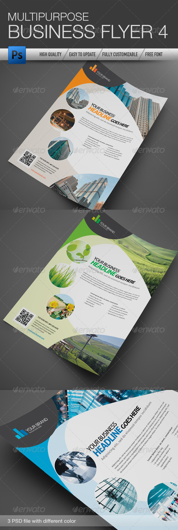 GraphicRiver Multipurpose Business Flyer 4 4711749