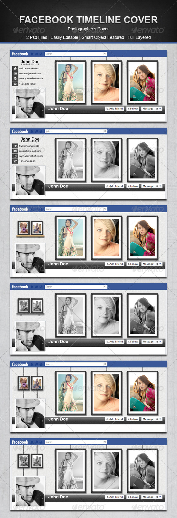 GraphicRiver Facebook Timeline Cover 4712250