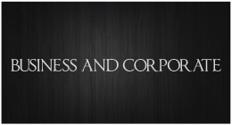 Corporate and Advertising