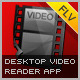 Desktop Video Reader App - ActiveDen Item for Sale