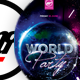 World Party Flyer Template