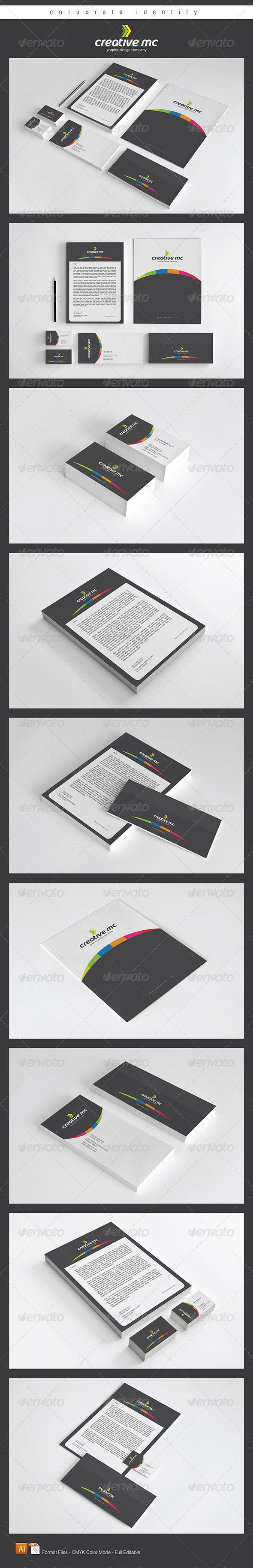 GraphicRiver creative mc corporate identitly 4713452