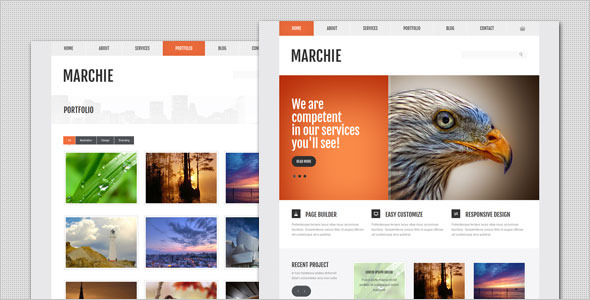Marchie - Corporate Business WordPress Theme