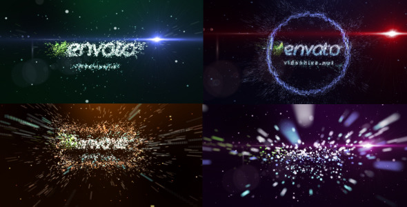 After Effects Project - VideoHive Transformation of particles 492533