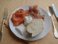 Prosciutto Ham, Mozzarella and Fresh Bread - PhotoDune Item for Sale