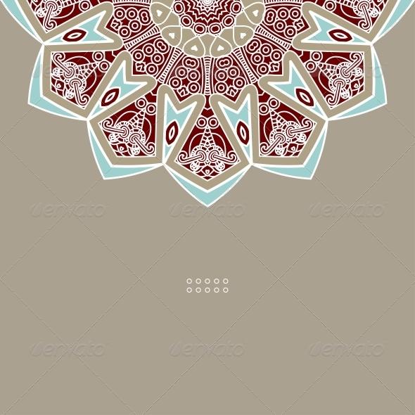 GraphicRiver Vector Round Decorative Design Element 4715165