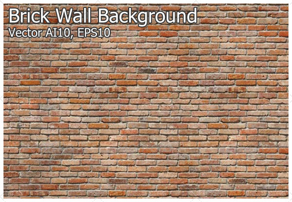 GraphicRiver Brick Wall Background 4715456