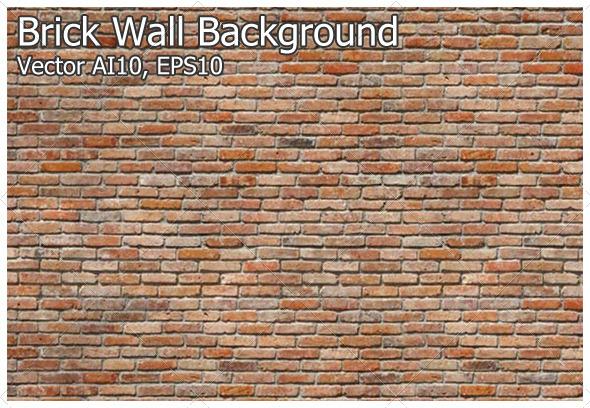GraphicRiver Brick Wall Background 4715456