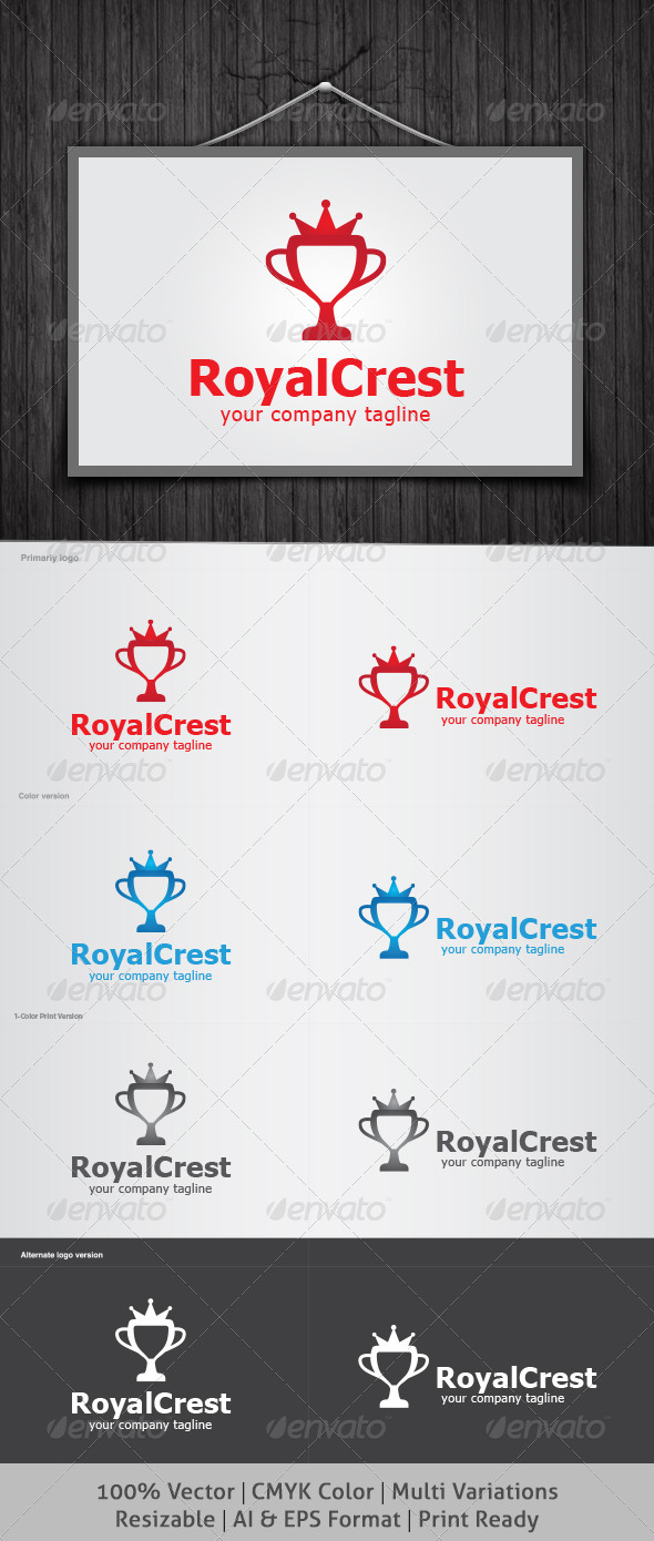 Royal Crest Logo - Crests Logo Templates