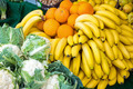 Bananas, oranges and cauliflower - PhotoDune Item for Sale