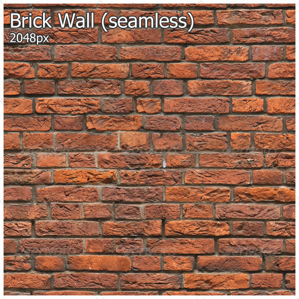 3DOcean Brick Wall seamless 4715685