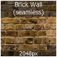 Brick Wall (seamless)