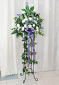 Wedding reception flower arrangement