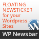 WP Newsbar - WordPress Floating News bar