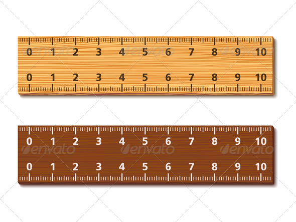 GraphicRiver Wooden Rulers 4717060