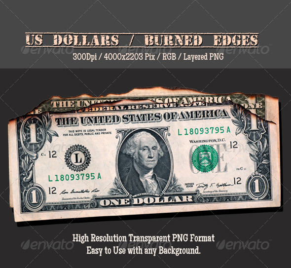 GraphicRiver Doller burned 4717226
