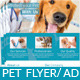 Pet Care Flyer / Magazine Ad