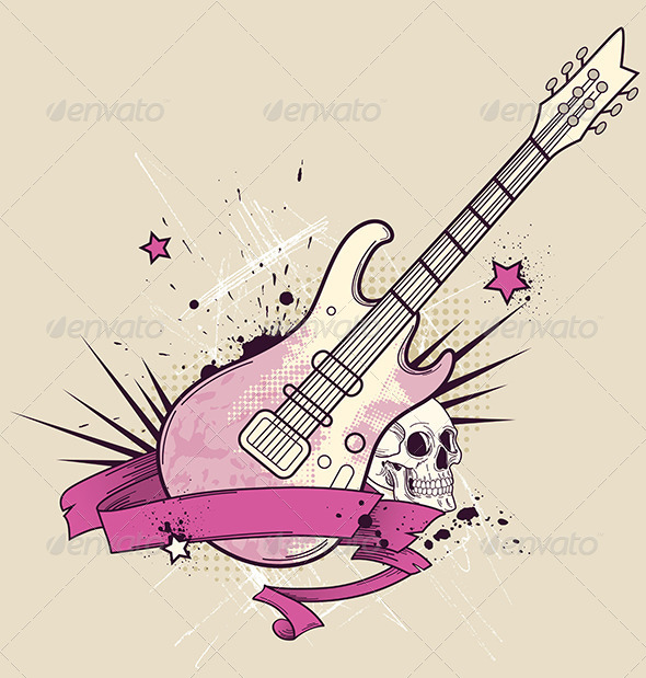 GraphicRiver Rock Music Background 4717566