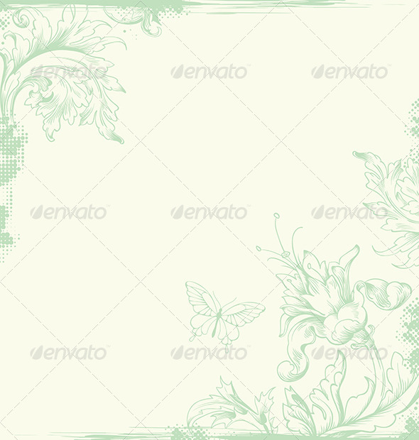 GraphicRiver Vintage Card 4717624