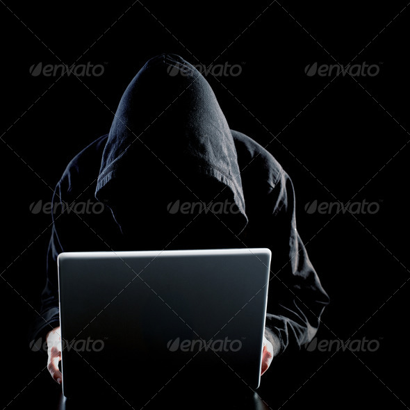 Hacker - Stock Photo - Images