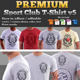 Premium Sport Club T-Shirt V5 Template - GraphicRiver Item for Sale
