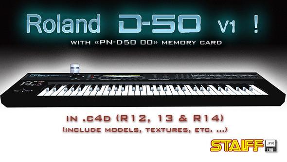 3DOcean Roland D-50 V1 4718073