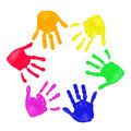 Colorful hands prints - PhotoDune Item for Sale