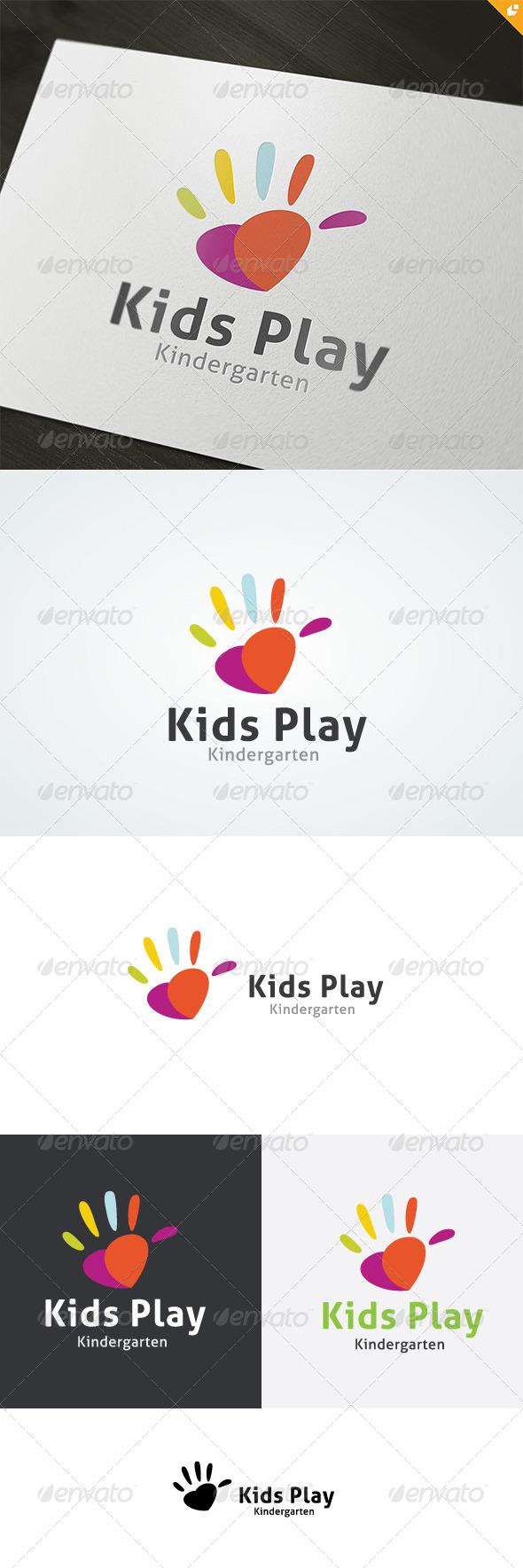 GraphicRiver Kids Play Logo 4718150