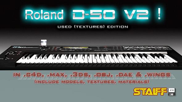 3DOcean Roland D-50 V2 4718162