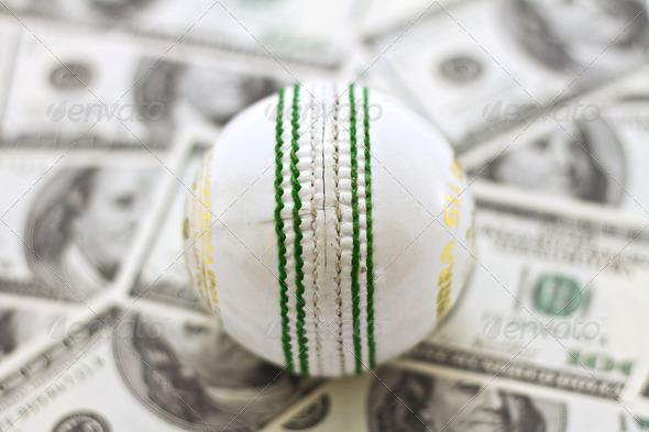 Cricket and money white
