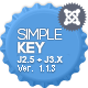 SimpleKey :: One Page Portfolio Joomla Template - ThemeForest Item for Sale