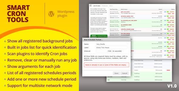 CodeCanyon Smart CRON Tools 4718364