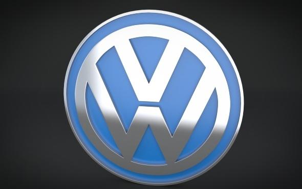 Volkswagen Logo - 3DOcean Item for Sale