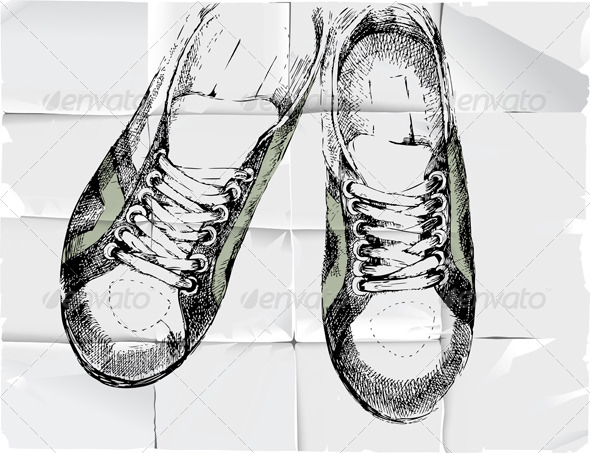 GraphicRiver Sneakers 4718416