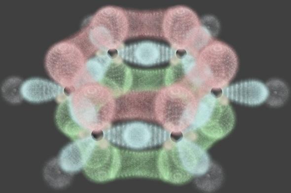 3DOcean Benzene Orbitals 4718497