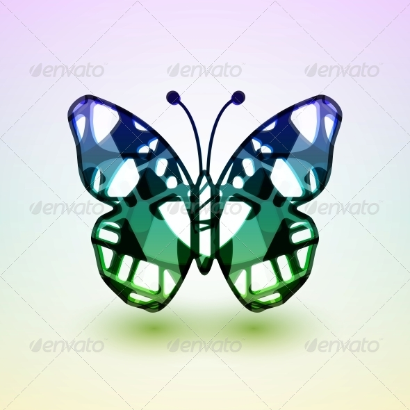 GraphicRiver Abstract Butterfly 4718563