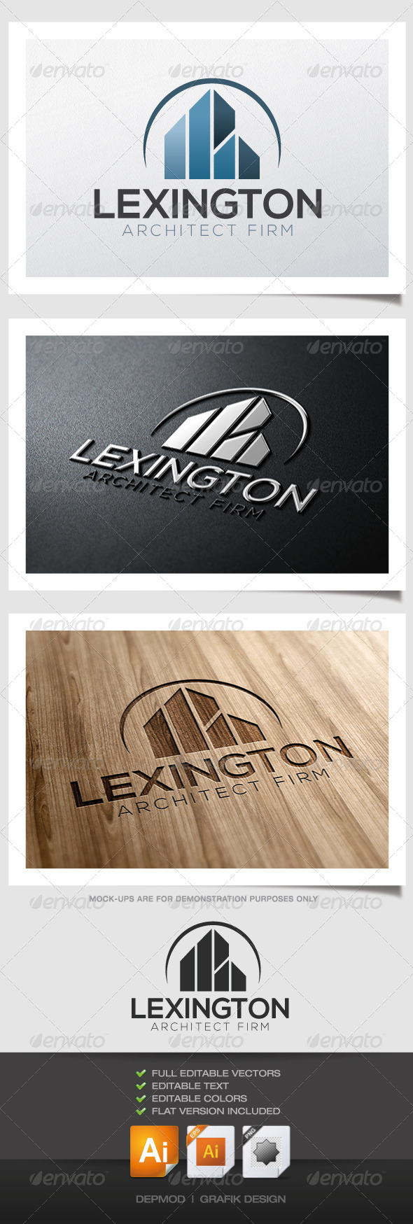 GraphicRiver Lexington Architect Logo 4718714
