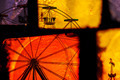 ferris wheel carousel abstraction - PhotoDune Item for Sale