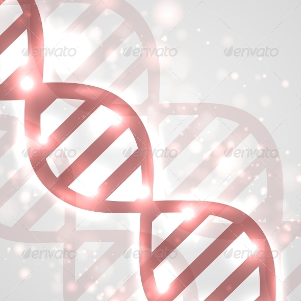 GraphicRiver Abstract DNA 4718793