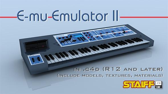 3DOcean E-mu Emulator II 4718941