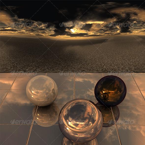 Desert sky - 3DOcean Item for Sale