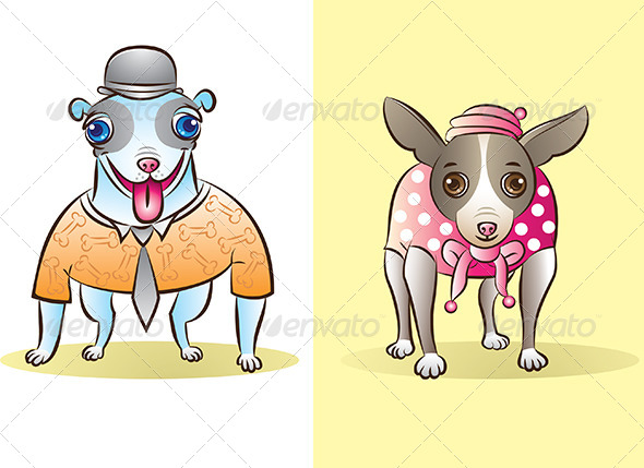 GraphicRiver Dogs 4719072
