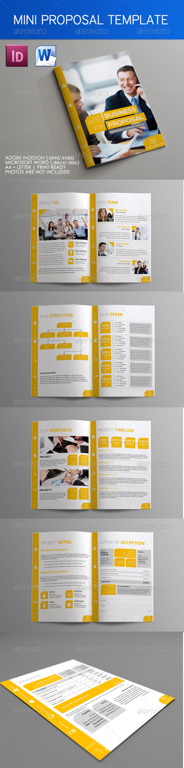 GraphicRiver Mini Proposal Template 4719114