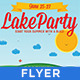 Lake Party - Vintage/Retro Poster - GraphicRiver Item for Sale