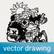 Hand Drawn Vector Illustration - GraphicRiver Item for Sale