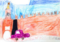 child's drawing - Kremlin in Moscow - PhotoDune Item for Sale